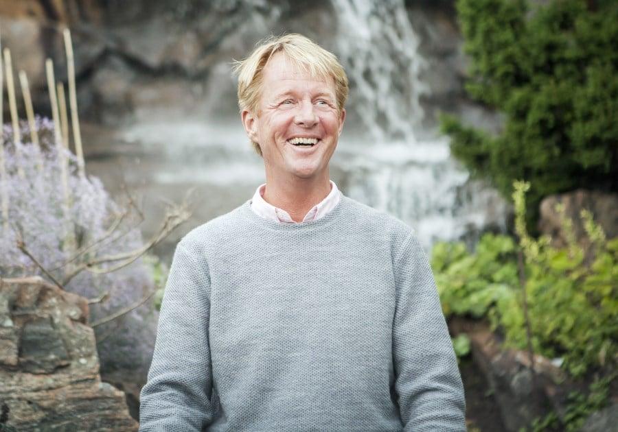 Björn Natthiko Lindeblad. Mottagare av 2019 års Hillesgårdspris. Foto: Cim Ek